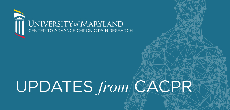 Updates from CACPR newsletter header