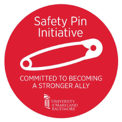 Safety Pin logo with Dates of sessions