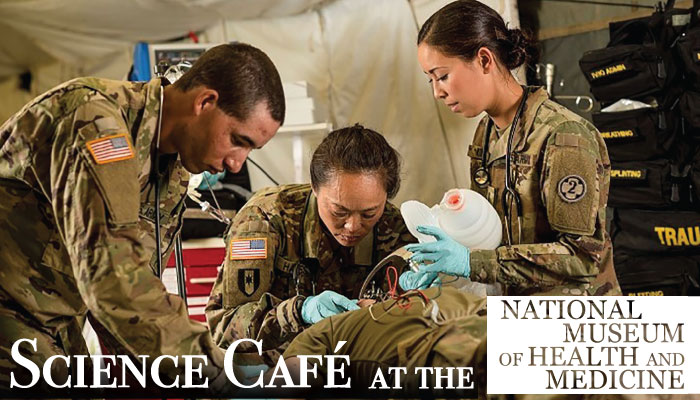 Science Cafe at the National Museum of Health and Medicine