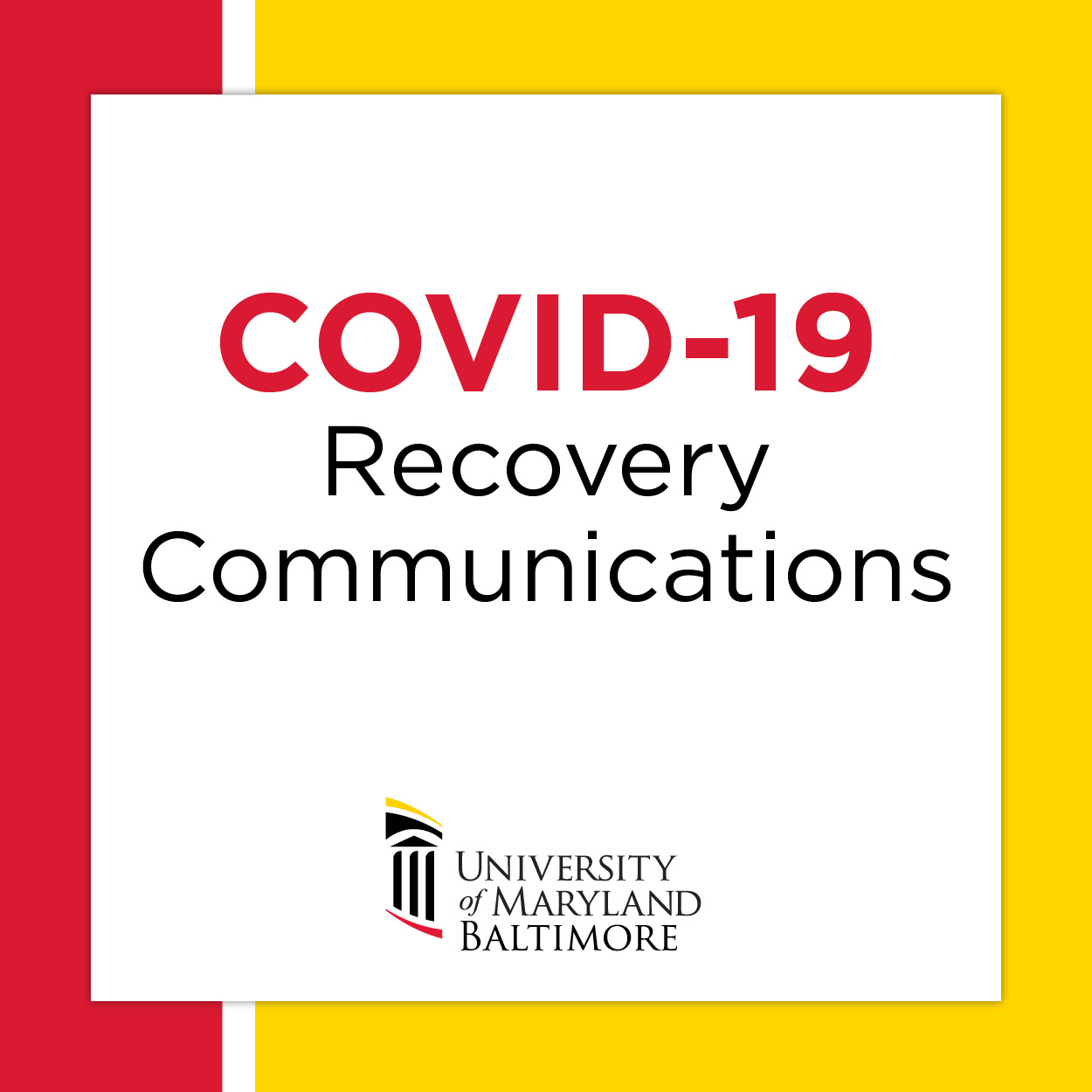 COVID-19 Recovery Communications