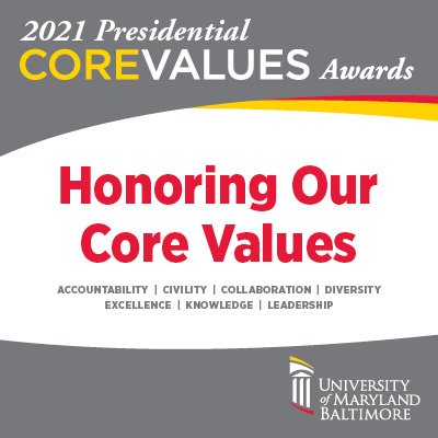 2021 Presidential Core Value Awards Nominations Graphic