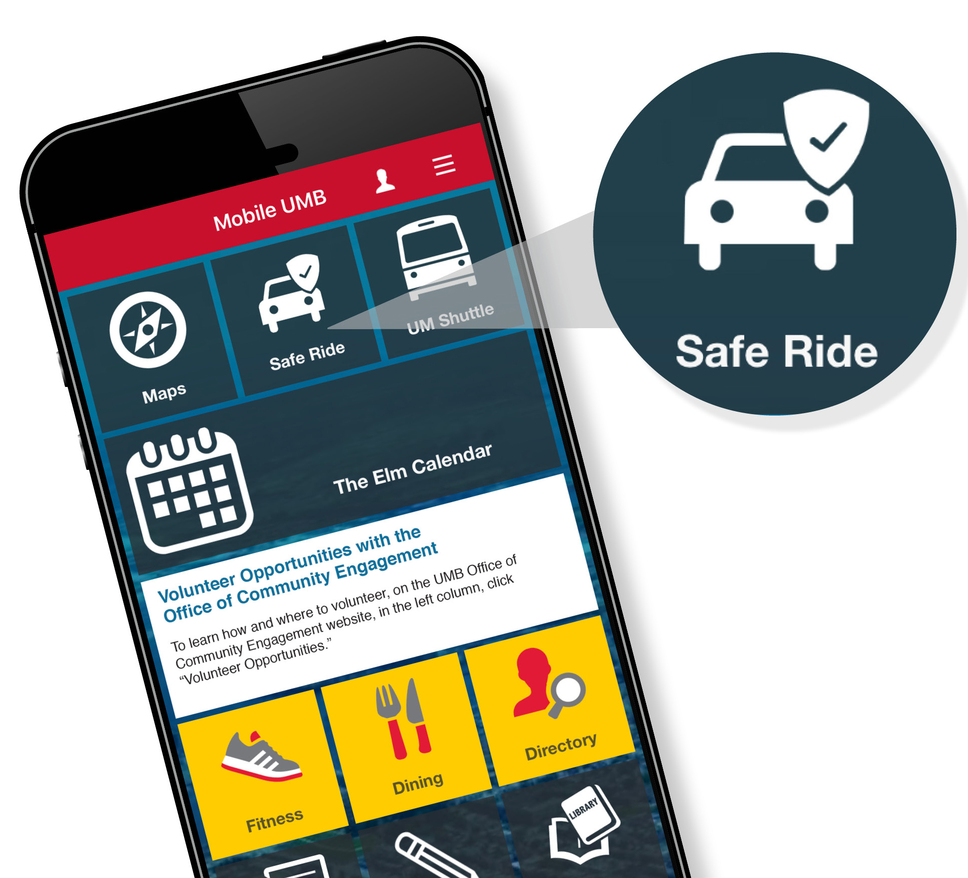 Safe Ride on Mobile App