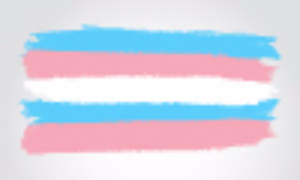 Blurred white, blue, and pink colors.