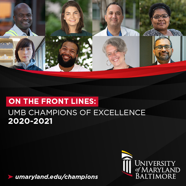 On the Front Lines: UMB Champions of Excellence 2020-2021
