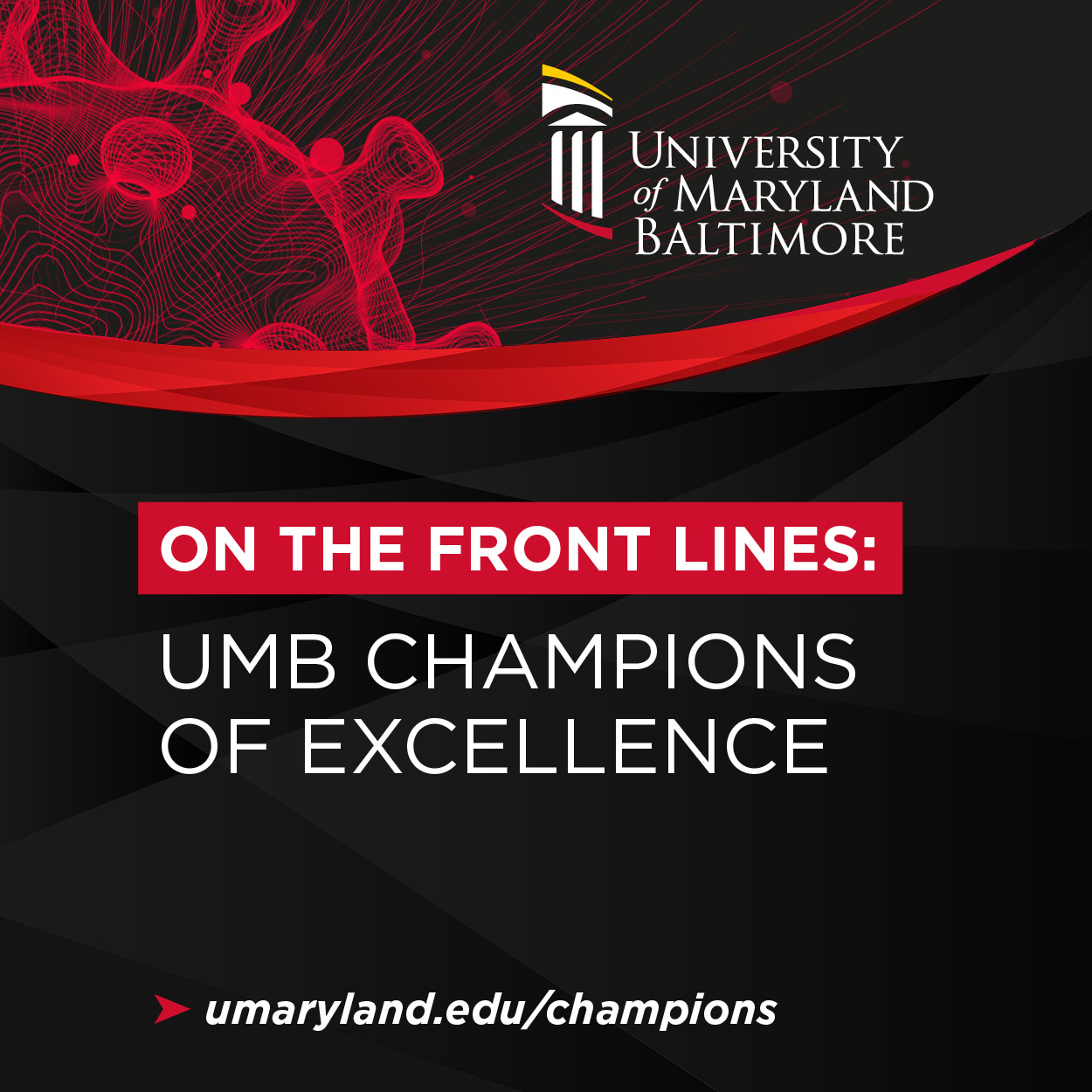 On the Front Lines: UMB Champions of Excellence