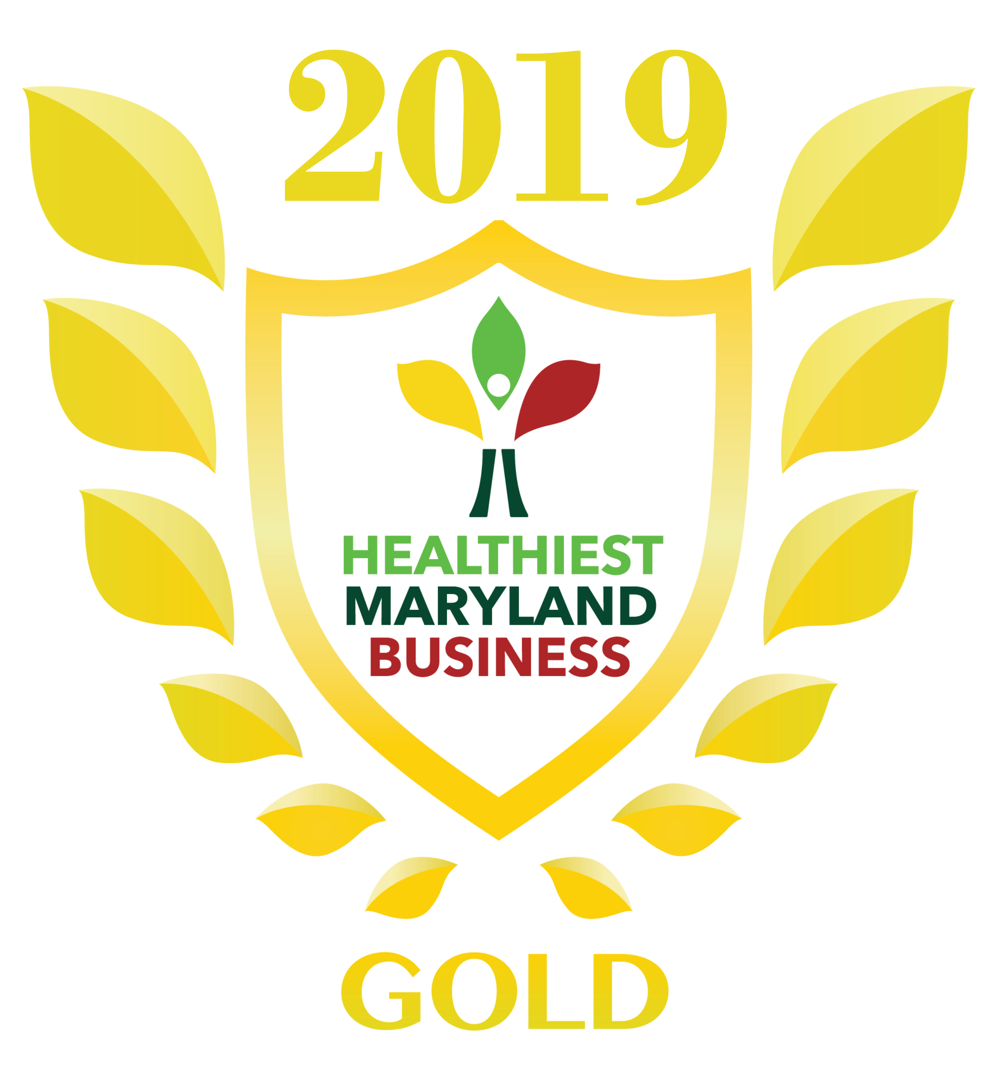 2019 Healthiest Maryland Business Gold