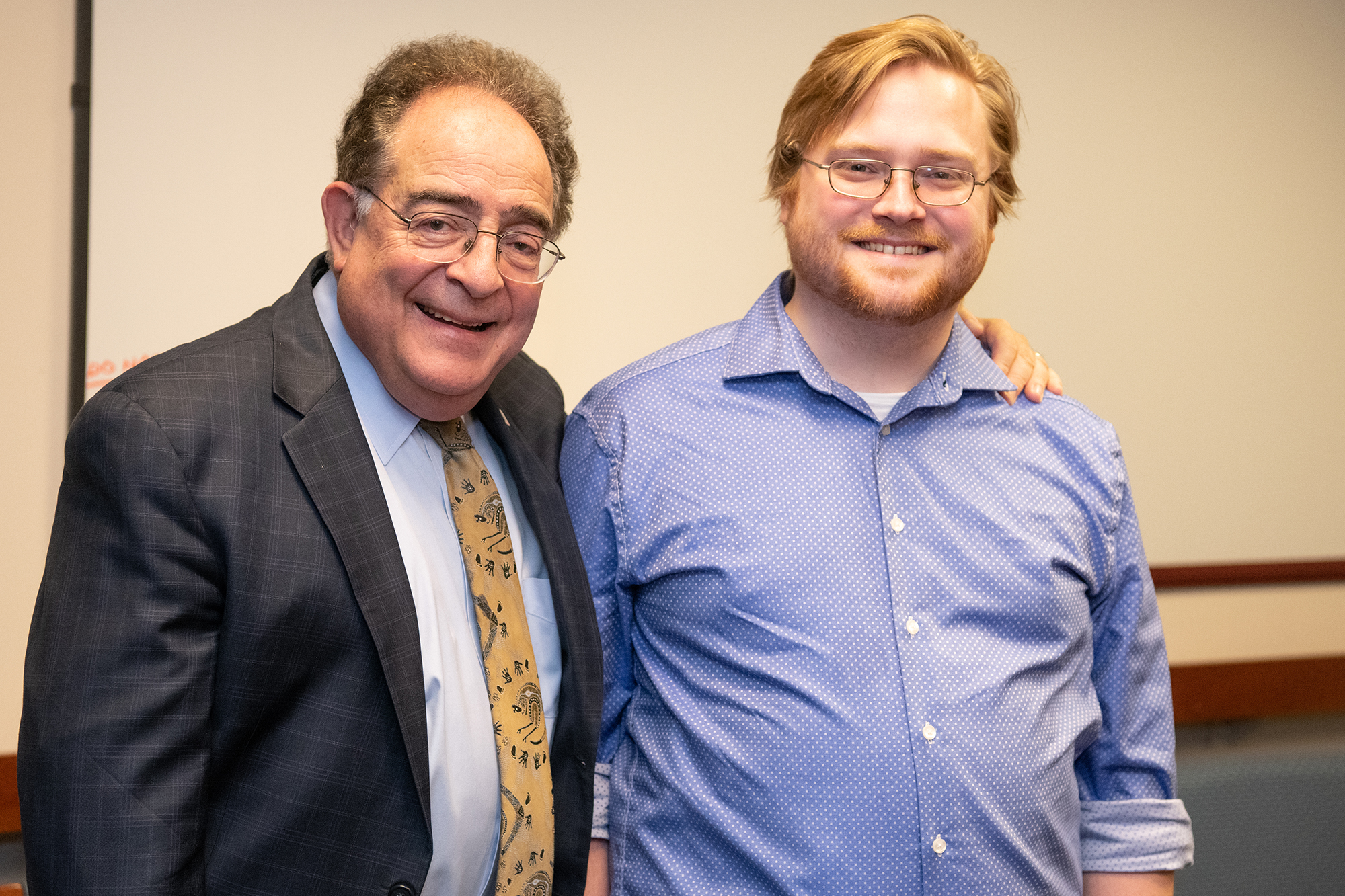 Dr. Perman and Jonah Penne